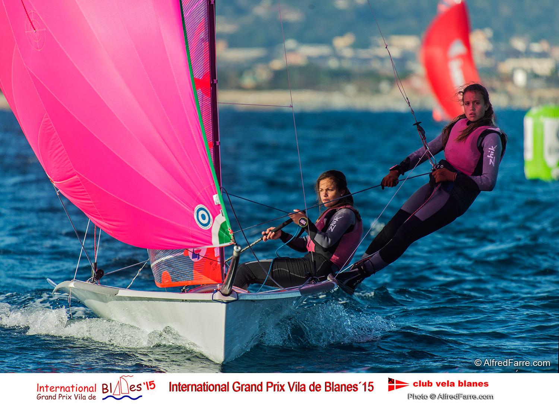 International Gran Prix Vila de Blanes 2015 Carla y Marta Munte